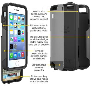 OtterBox Defender Series Case for iPhone 5s and iPhone 5. iPhone 5S case & iPhone 5 case.