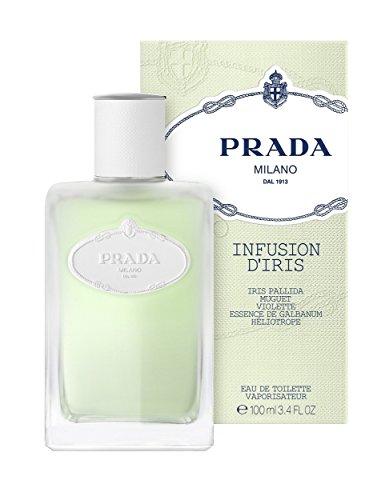 prada infusion d iris eau de toilette spray by prada 3 4 ounce prada beautil