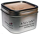 Blockhead Bath Soy Wax Candle Travel Tin - A-Peel a Sevilla (citrus)