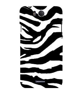 Tiger Pattern Cute Fashion 3D Hard Polycarbonate Designer Back Case Cover for InFocus M530