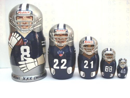 Dallas Cowboys * NFL * or any other sport team * 5 pcs / 6 in