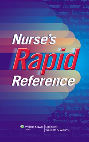 Nurse'S Rapid Reference