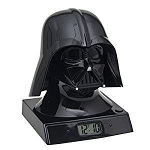 "Star Wars Merchandise - Darth Vader LED Alarm Clock (Size: 5"" x 6"")"