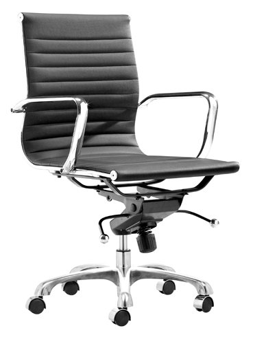 Zuo Modern Lider Office Chair, Black