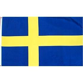 Sweden Flag 3x5 3 x 5 Brand NEW Swedish Banner 3FT 5FT