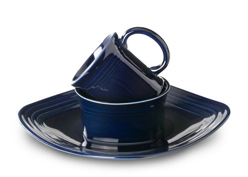 Fiesta 3-Piece Square Place Setting, Cobalt