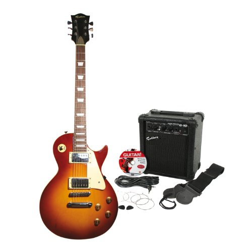 Rockburn LP2 Electric Guitar Pack - Sunburst