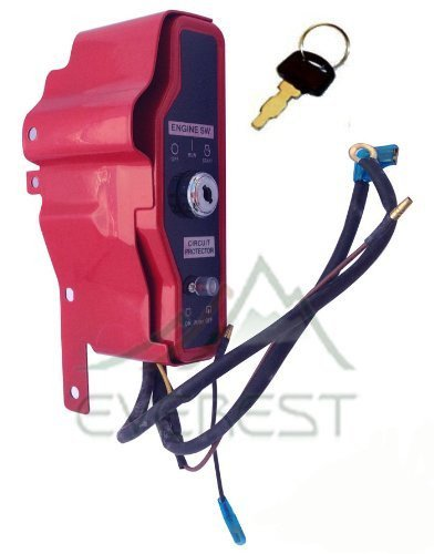 New Pack of Ignition Key Switch Box w/ Keys + Engine Stop On Switch for Honda GX340 GX390 11hp 13hp Gas Engine (Honda Gx390 Parts compare prices)