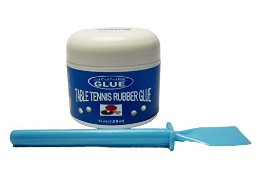 Big Save! iNNOGLUE Table Tennis Rubber Glue, 55ml with Spreader