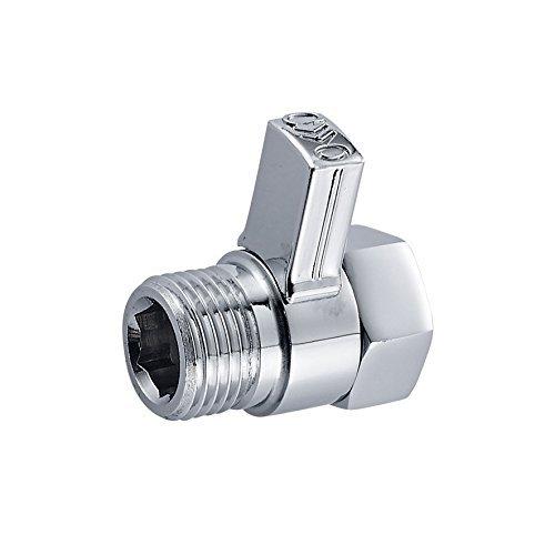 senlesen s004 shower head shut off valve solid brass chrome