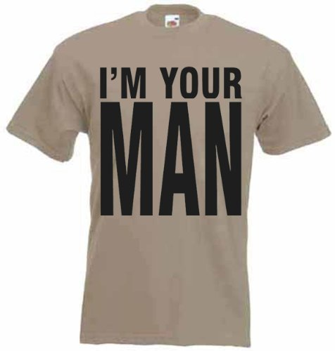 I'm Your Man 1980s T-Shirt (choice of colour)