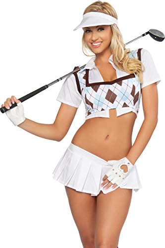 3WISHES 'Hole In One Costume' Sexy Golf Costumes for Women