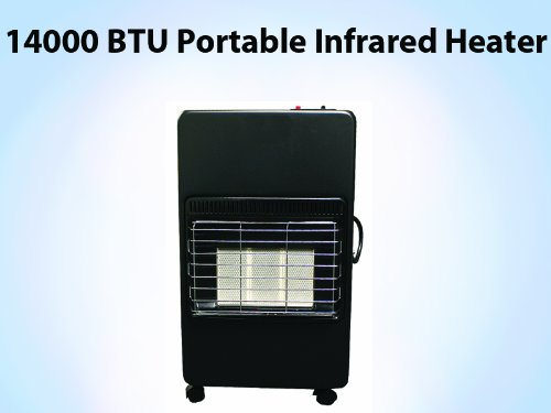 New 2013 Patio Portable 14000 Btu Propone Gas Lpg Infrared Space Heater Osd Ce
