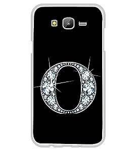 Alphabet O 2D Hard Polycarbonate Designer Back Case Cover for Samsung Galaxy E7 (2015) :: Samsung Galaxy E7 Duos :: Samsung Galaxy E7 E7000 E7009 E700F E700F/DS E700H E700H/DD E700H/DS E700M E700M/DS