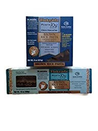 Tinkyada Brown Rice Pasta Bundle Pack: Lasagne & Grand Shells [1 Box of Each]