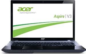 Acer Aspire V3-771G-53218G50Makk 43,9 cm (17,3 Zoll) Notebook (Intel Core i5 3210M, 2,5GHz, 8GB RAM, 500GB HDD, NV GT650M, DVD, Bluetooth, Win 7 HP)