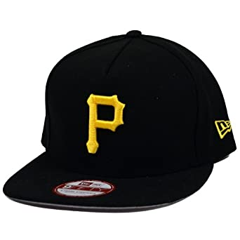 Pittsburgh Pirates New Era Under Scape Strapback Hat by New Era