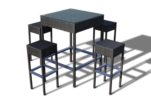 dining set by luxus outdoor patio furniture set garden table chairs