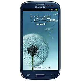 Samsung Galaxy S III, Blue 16GB (Verizon Wireless)