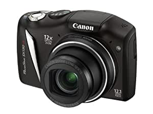 Canon PowerShot SX130 IS Digital Camera (12.1 Megapixel, 12x Zoom, 3.0 inch LCD Screen)