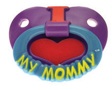 Billy Bob Teeth I Love My Mommy Pacifier front-880761