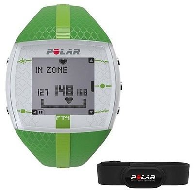 Polar Ft4 Women'S Heart Rate Monitor Green 90048731 Size Xs/Sm Ship Worldwide