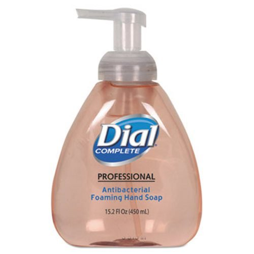 Dial Professional 1700098606 Antimicrobial Foaming Hand Soap, Original Scent, 15.2oz., Light Pink (Pack of 4) (Dial Pink Soap compare prices)