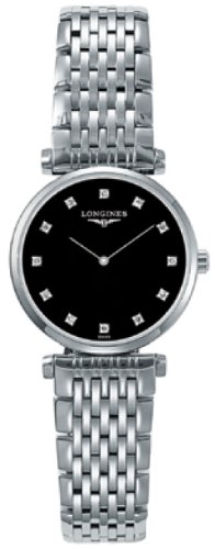 Longines Le Grande Classique Black Dial Steel Ladies Watch L4.209.4.58.6