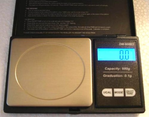 Home Coin Scale, x 0.1 Pennyweight, Ounce Weighing Balance