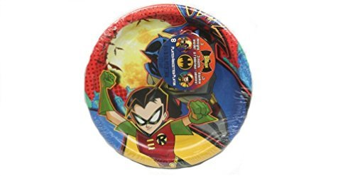 Batman Begins Dessert Plates 8ct - 1