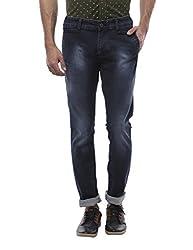 Vintage Premium Slim Fit Blue Jeans