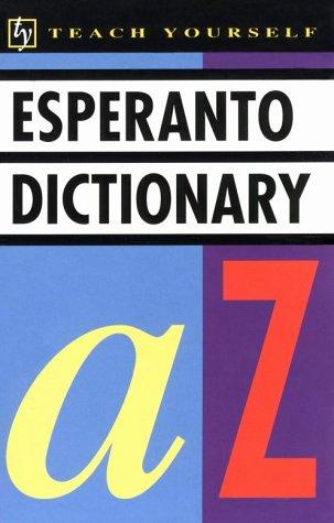 Concise Esperanto and English Dictionary Esperanto English English Esperanto Teach Yourself Books