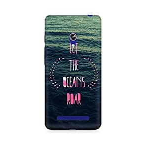 Mobicture Let the Oceans Roar Printed Phone Case for Asus Zenfone Go