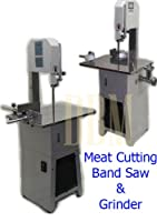 Butcher Meat Cutting Cutter Band Saw Mincer Grinder Sausage Stuffer Maker from Generic