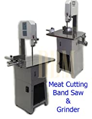 Butcher Meat Cutting Cutter Band Saw Mincer Grinder Sausage Stuffer Maker by 