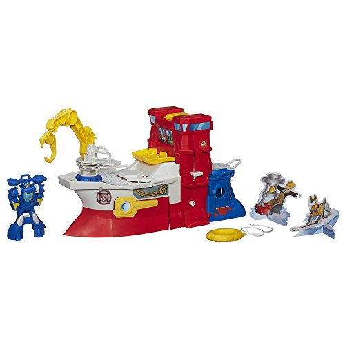Playskool Heroes Transformers Rescue Bots High Tide Rescue Rig Playset - 1