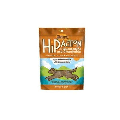 Hip Action Dog Treats - 1 Lb. - Peanut Butter