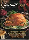 img - for Gourmet the Magazine of Good Living November 1995 - Thanksgiving Issue book / textbook / text book