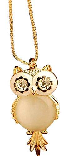 VonFon women owl sweater chain golden