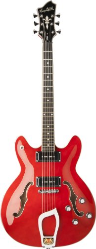 Hagstrom Vikp-Wct Viking P Electric Guitar, Wild Cherry Trans