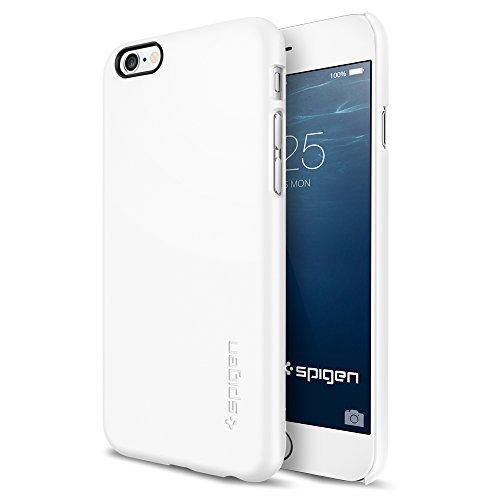 iPhone 6 ケース, Spigen®  [滑り防止加工] Apple iPhone 4.7 (2014) シン ・フィットThe New iPhone アイフォン6 (国内正規品) (シマリー・ホワイト  SGP10937)