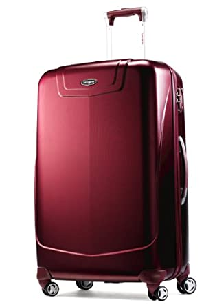 Samsonite Luggage Silhouette 12 Hs Spinner 30,Dark Red,One Size