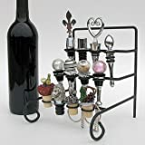 41HHDJgudsL. SL160  Wine Bottle Stopper Display Rack or Stopper Stand   Holds 12 Stoppers (Not Included)
