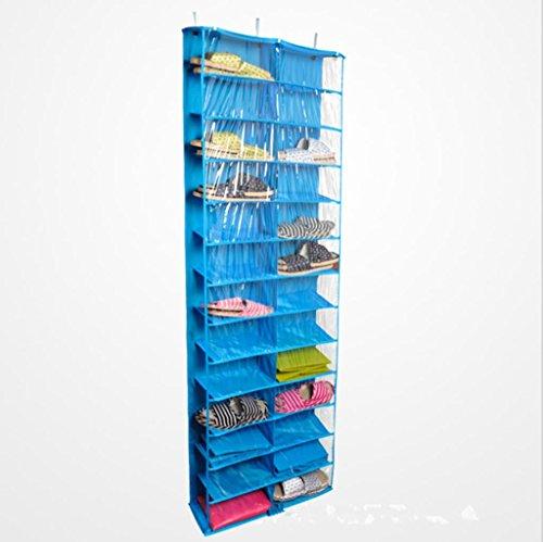 GYMNLJY Può essere lavato 26 griglia porta deposito borse Oxford panno multistrato tessuto scarpe borse detriti custodia . 1
