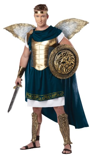 California Costumes Men's Archangel Gabriel Adult, Blue/Gold, Large