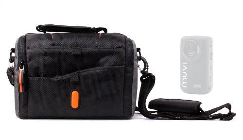 sacoche-de-transport-duragadget-noir-orange-avec-poches-pour-veho-vcc-005-muvi-hdnpng-h10-mini-et-vc