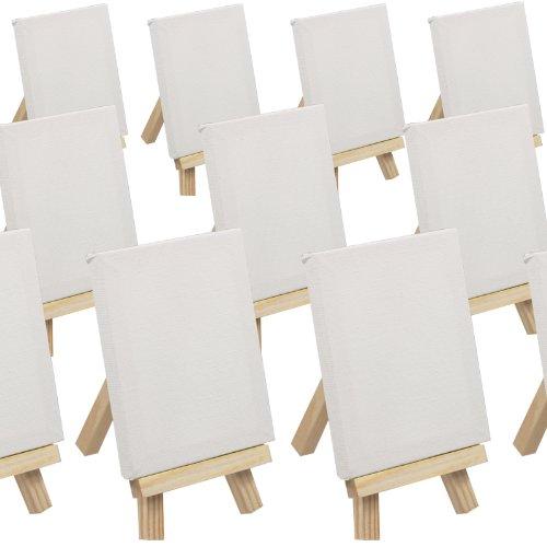 Set da 50 cavalletti da pittura in miniatura mini - Portafoto da tavolo 20x30 ...