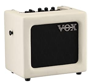 Vox Mini3 Modeling Guitar Amplifier, Ivory
