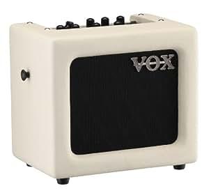Vox Mini3 Modeling Guitar Amplifier, Ivory