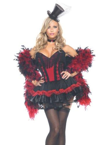Costu (Sexy Deluxe Saloon Girl Costumes)